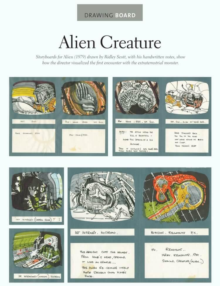 Storyboard Examples Aliens