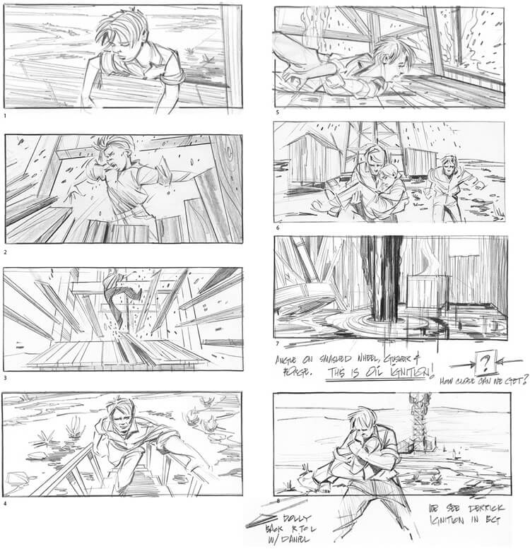 Storyboard Examples There Will Be Blood