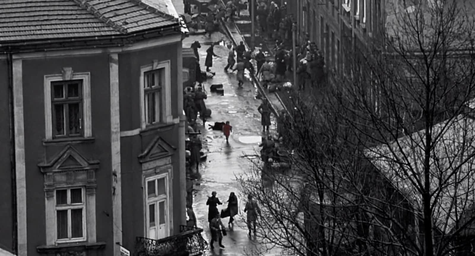 Wide Angle Shot - Camera Movements and Camera Angles - Schindlers List - 3