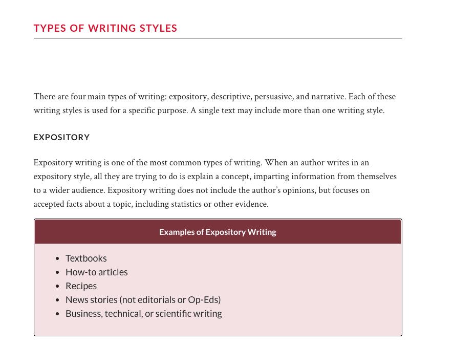 Writers Block How to Overcome Writers Block Types of Writing Styles StudioBinder