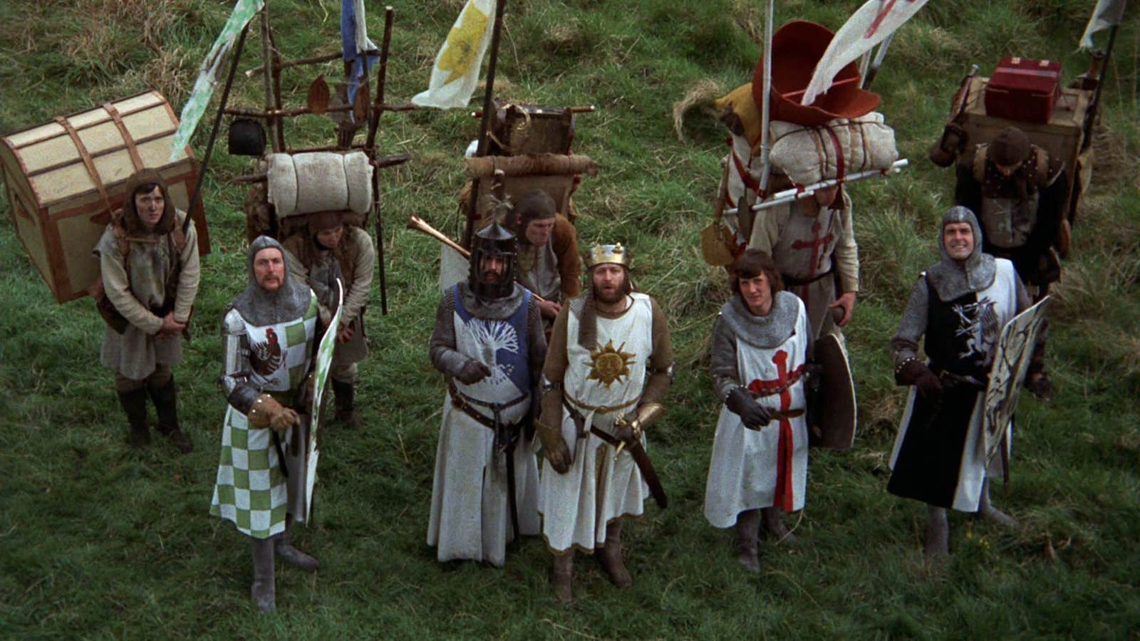 Best Comedies of all times - Funny English Movies - Monty Python and the Holy Grail