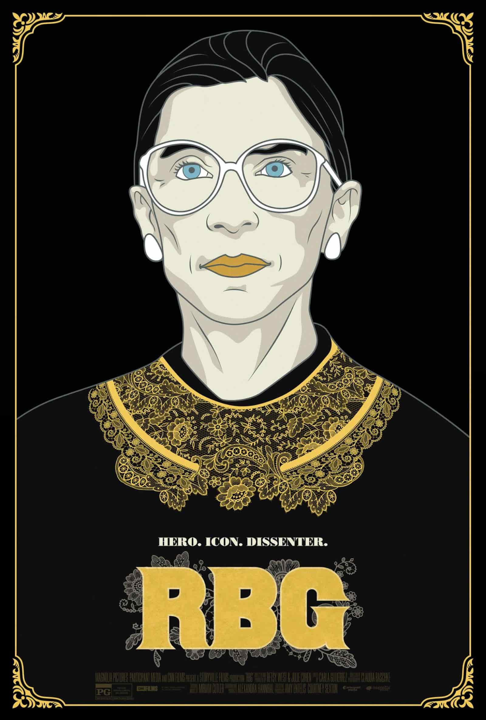 Best Indie Films - RBG - Portrait of Supreme Court Justice - StudioBinder