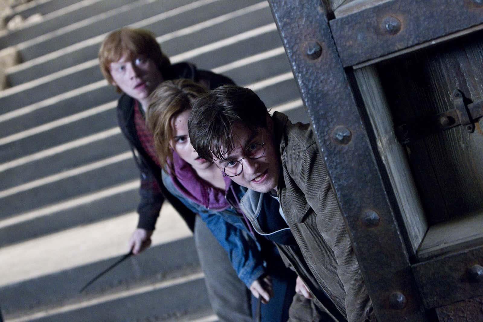 Dutch Angle Shots Example - Dutch Angle Camera - Harry Potter