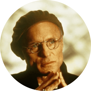 Ed Harris as Christof in The Truman Show