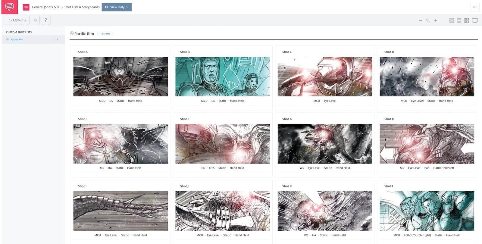 Film Storyboard Example - Pacific Rim - StudioBinder