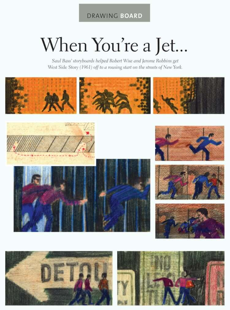Film Storyboard Examples - Movie Storyboard Sample - West Side Story - StudioBinder