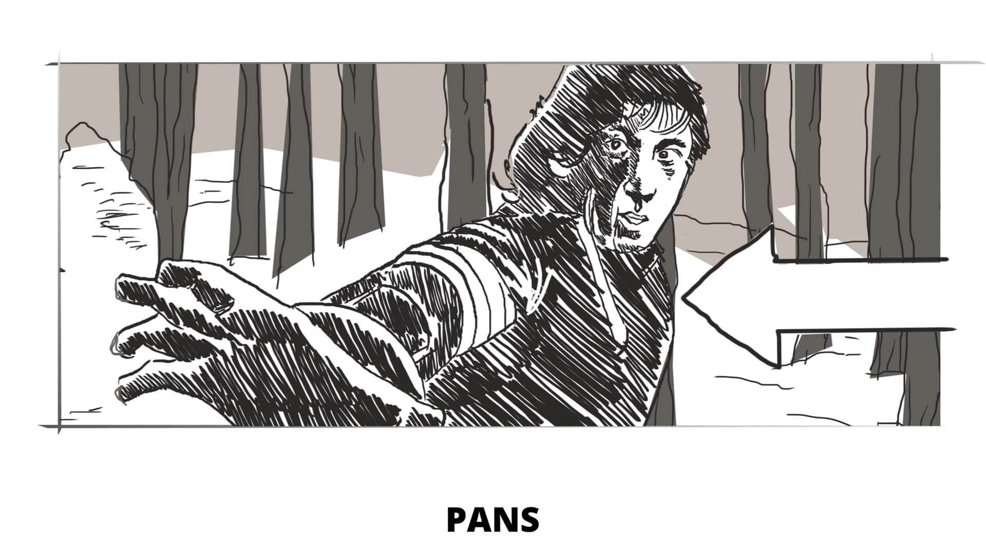 How to Make a Storyboard - Panning - StudioBinder