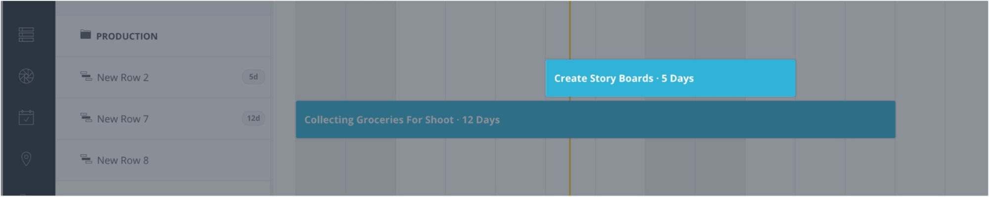 Production Management Software - Create Storyboard Event Block - StudioBinder
