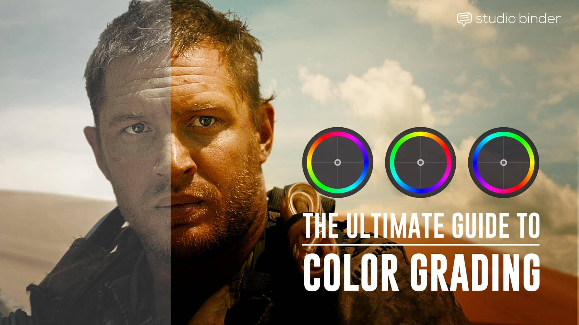 Color Grading vs  Color Correction Process for Video