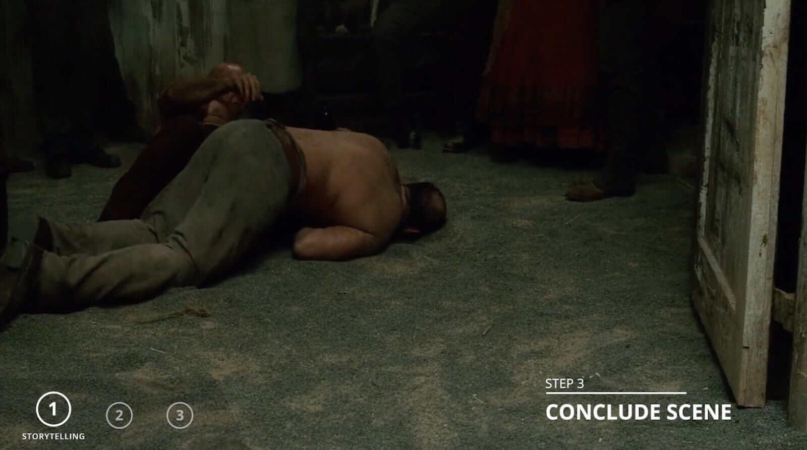Sherlock Holmes fight scene - Conclude scene