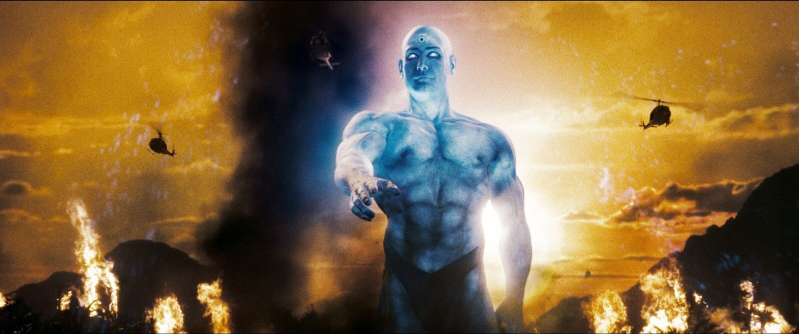 Directing Styles Zack Snyder Color Dr Manhattan