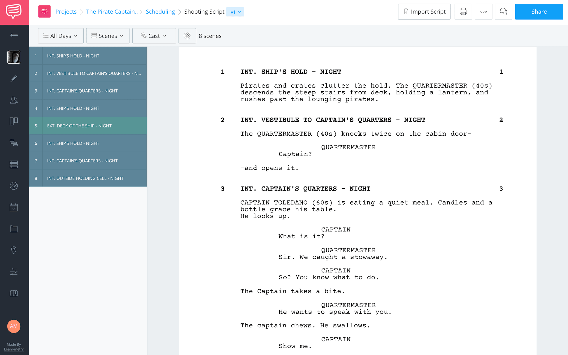 How to Make a Movie Import Script