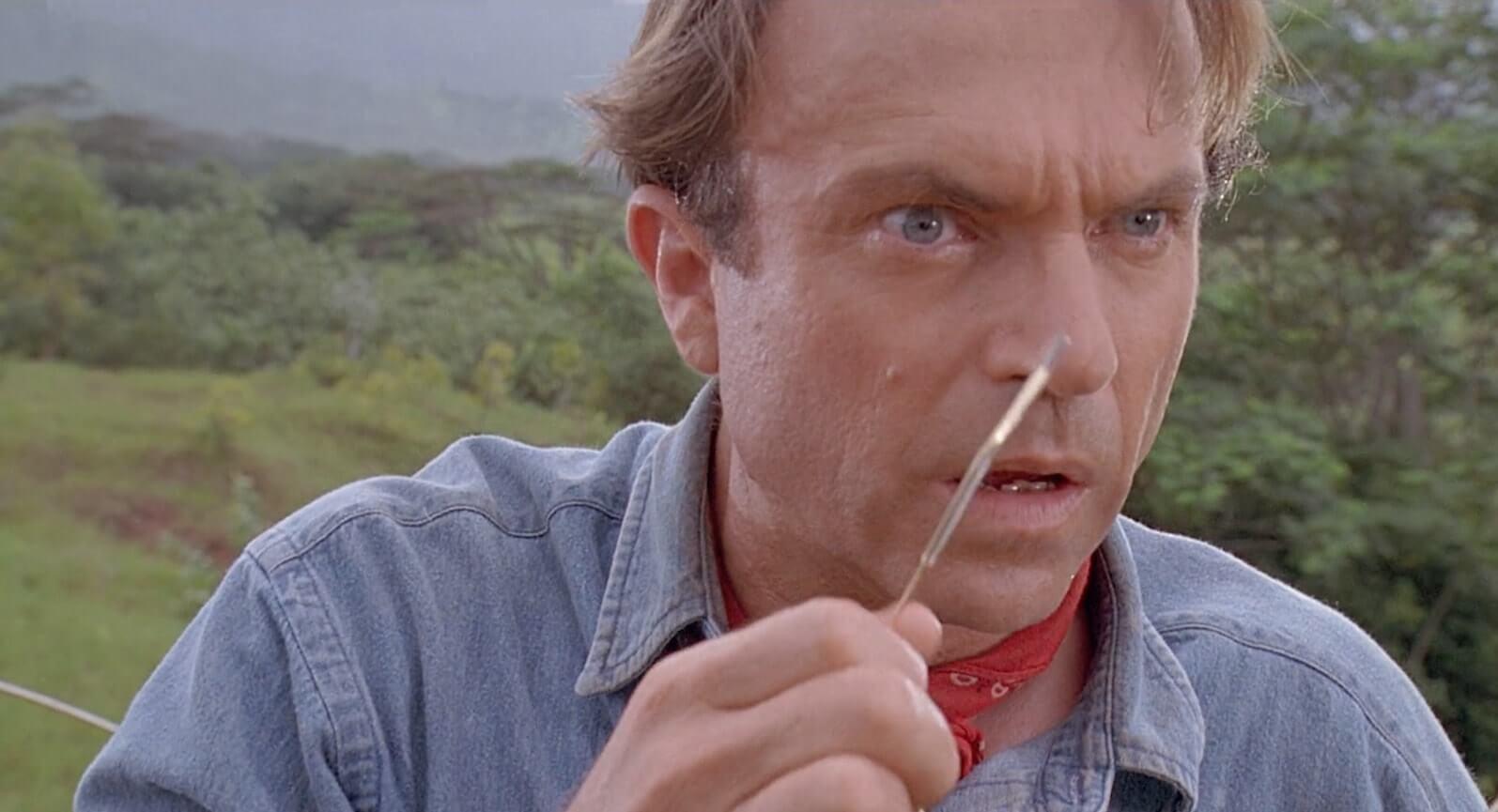 Kuleshov Effect Example Jurassic Park Neill