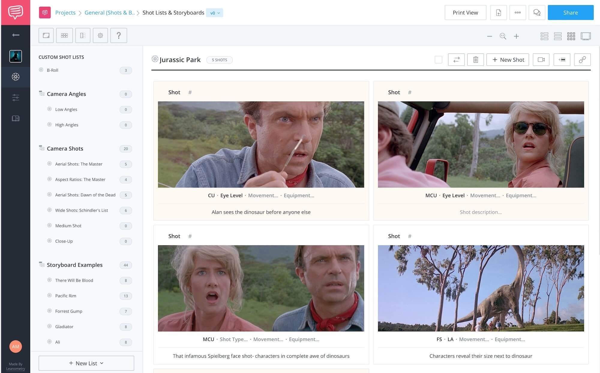 Kuleshov Effect Example Jurassic Park Shot List StudioBinder