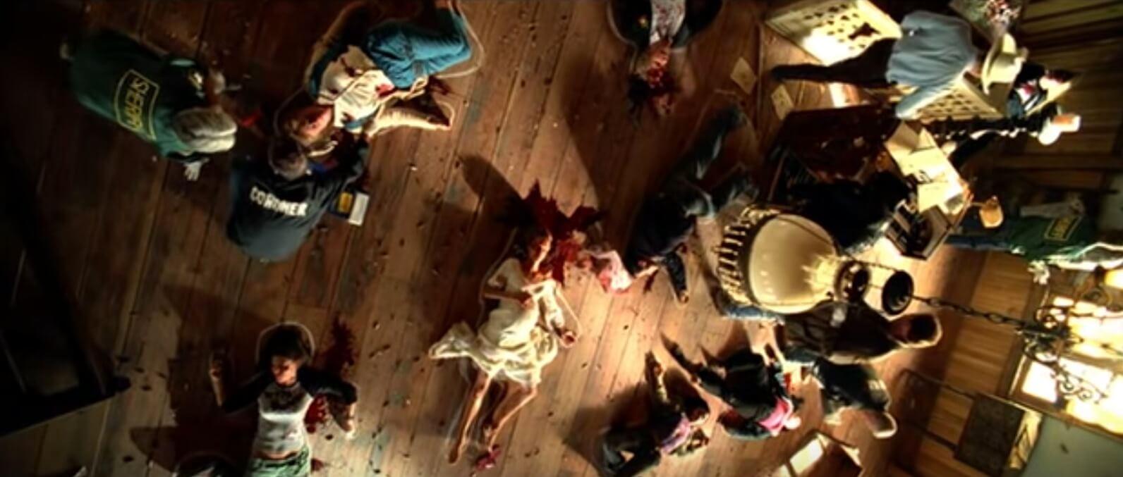 Overhead Shot Kill Bill