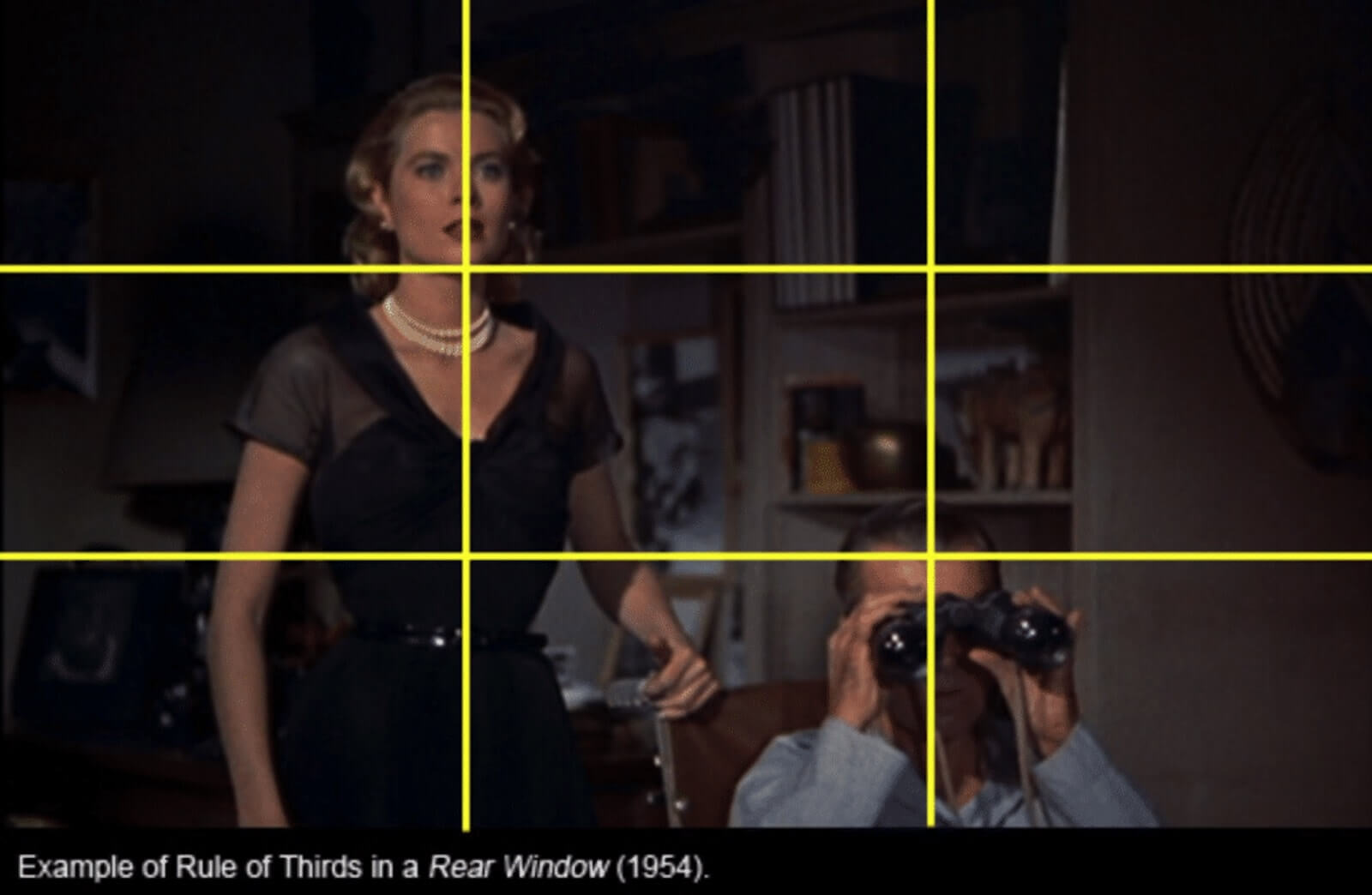 Rules of Shot Composition- Rule of Thirds- Grid