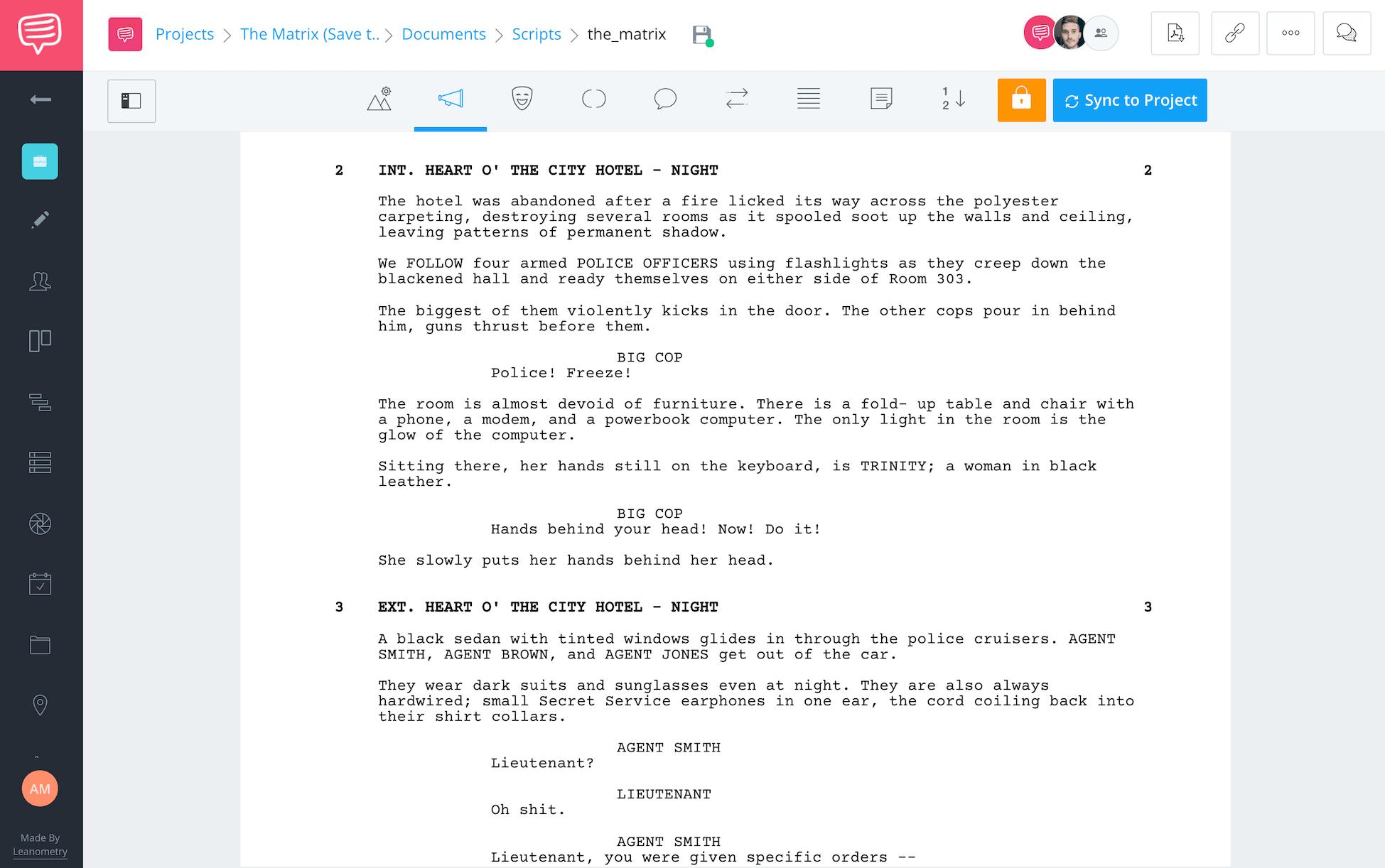 Save the Cat Beat Sheet The Matrix Script StudioBinder