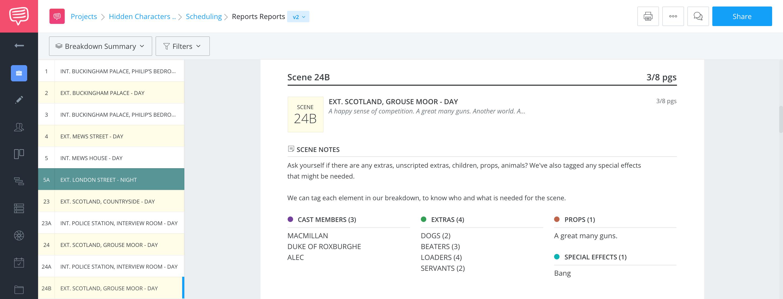 Identify Hidden Elements Report