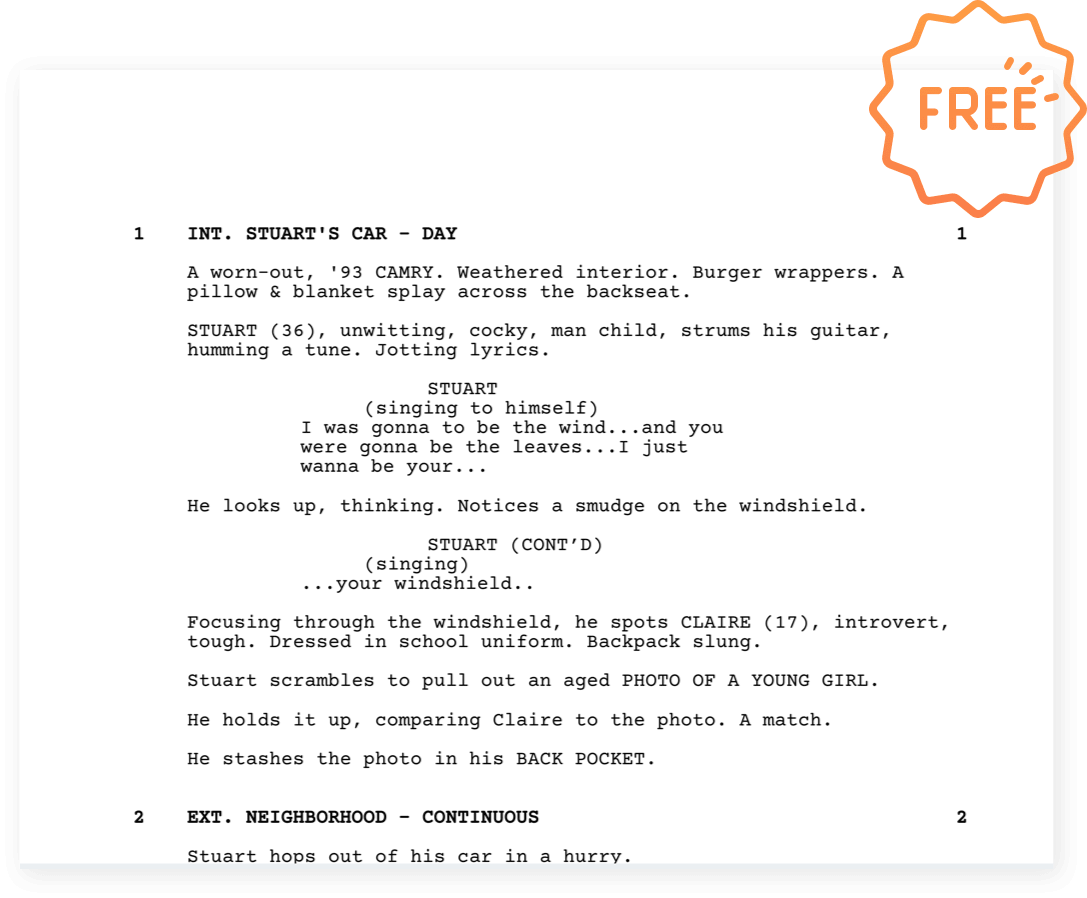 StudioBinder Free Screenwriting Software - Free Scriptwriting Application - 6
