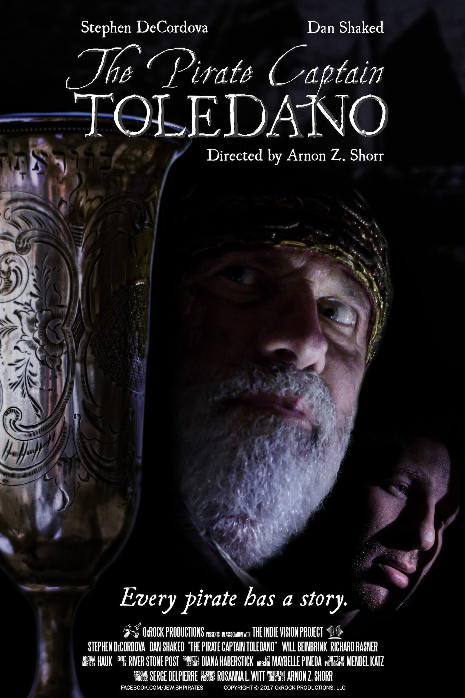 The Pirate Captain Toledano Poster