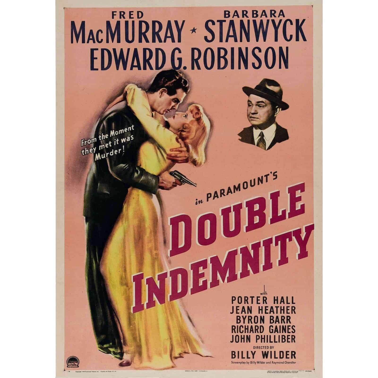 best movie taglines double indemnity