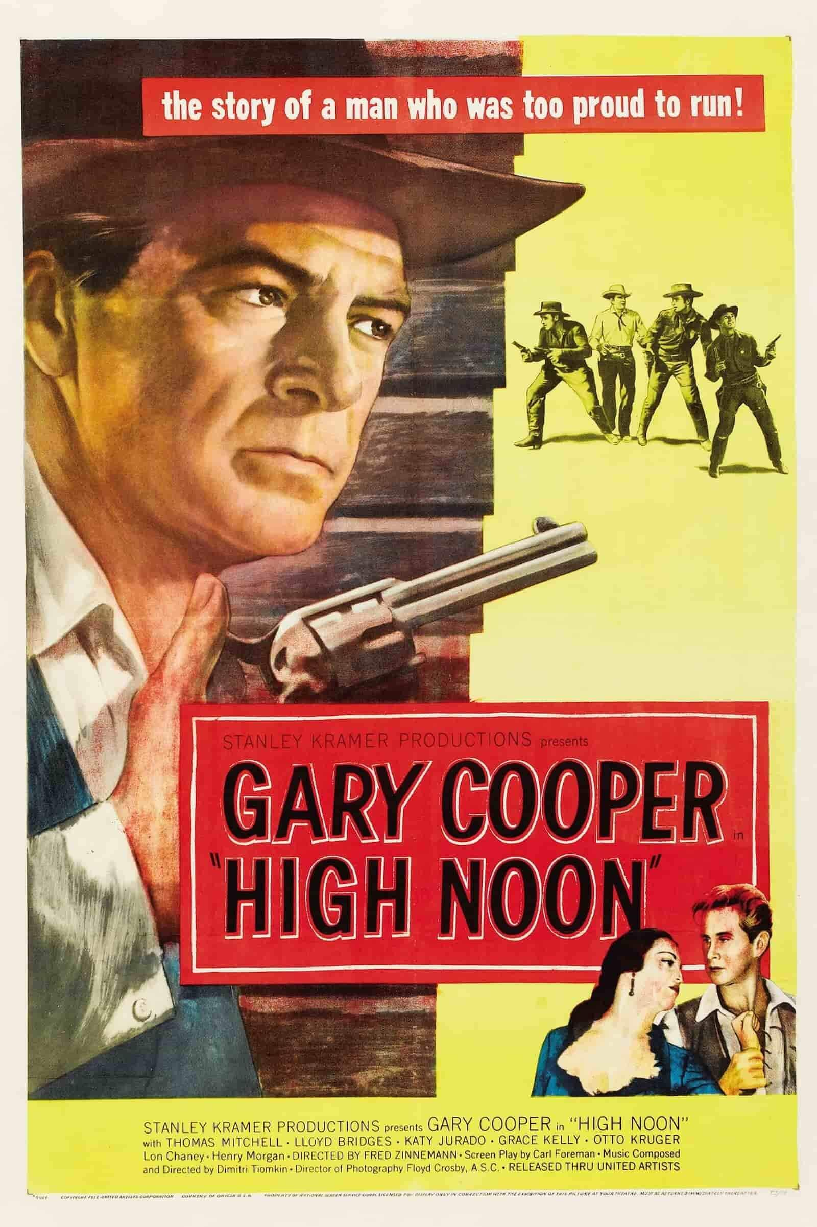 best movie taglines example high noon