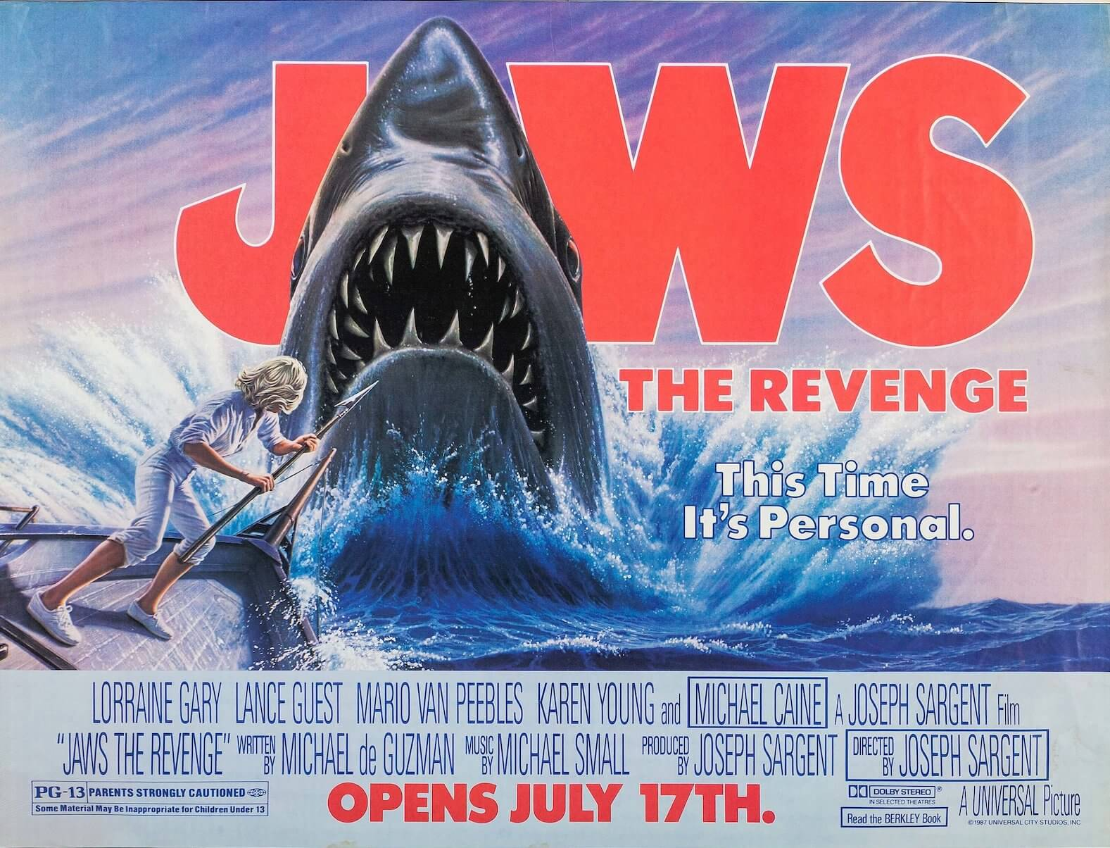 best movie taglines jaws revenge personal