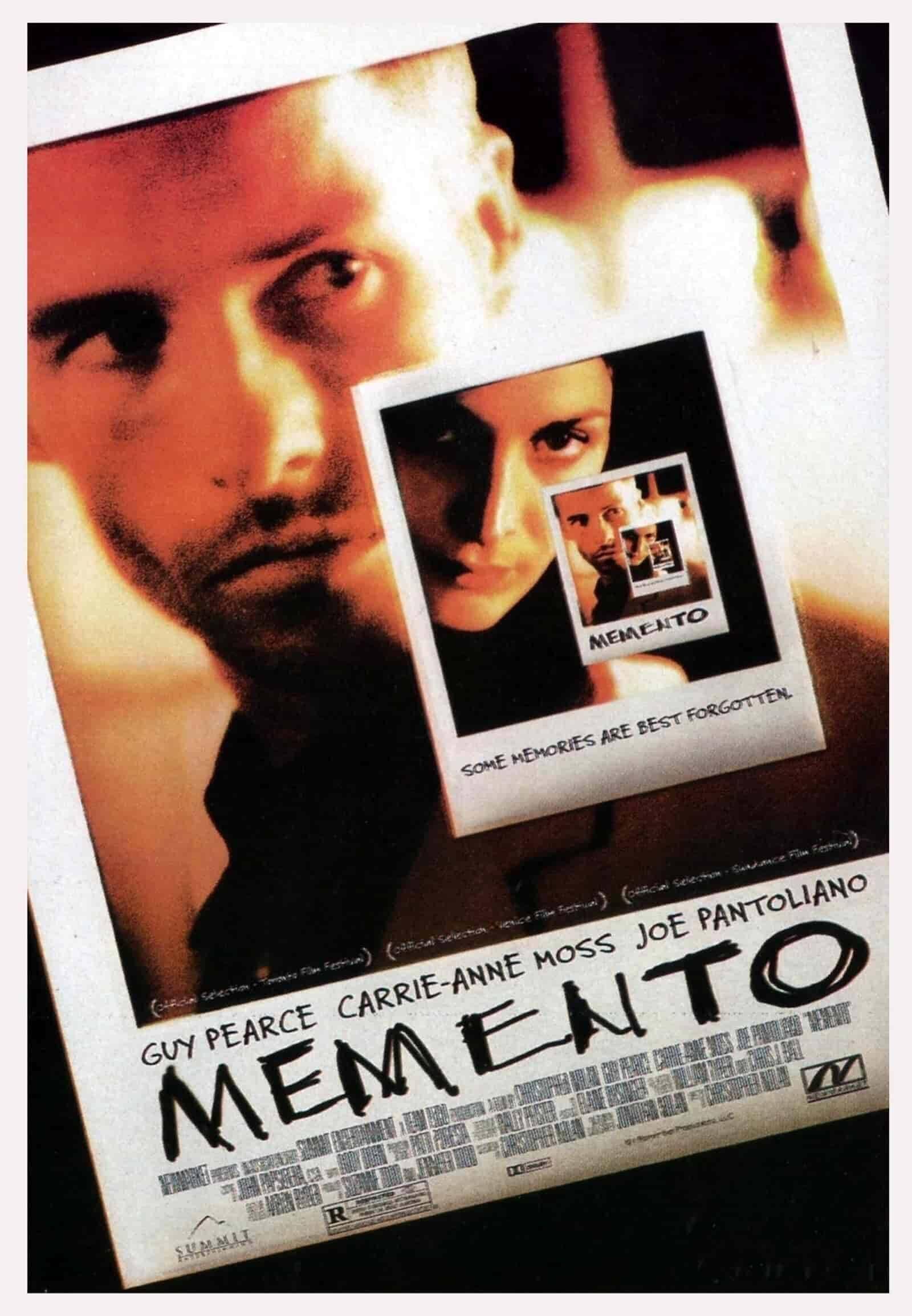 best movie taglines memento