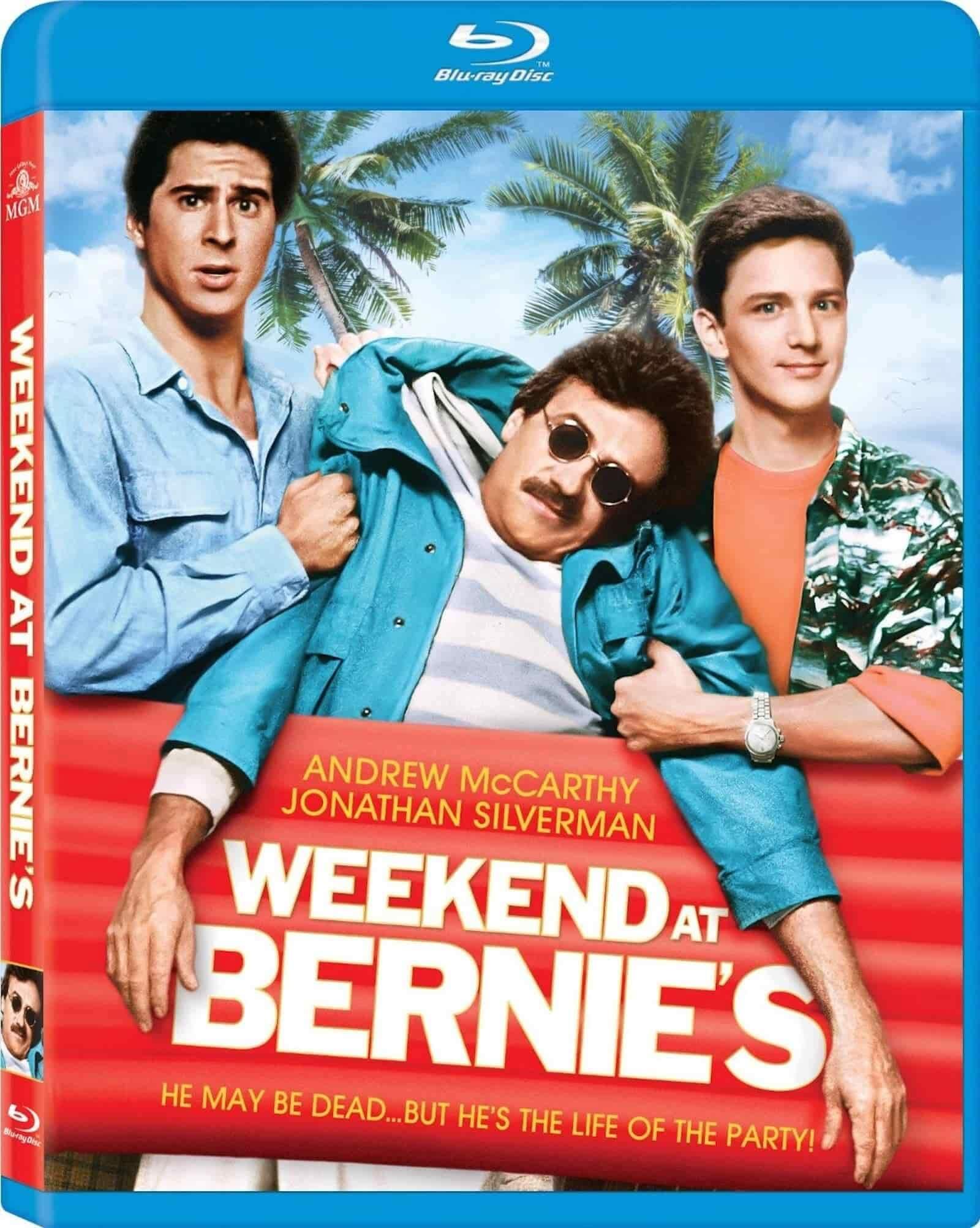 best movie taglines weekend at bernies