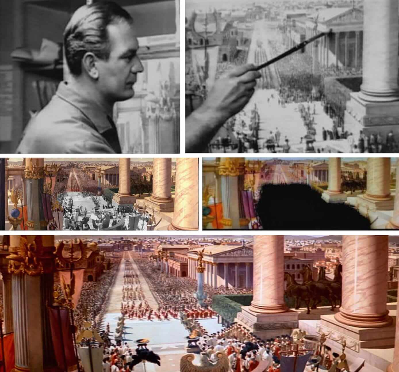 Casting Background Ben Hur Painting