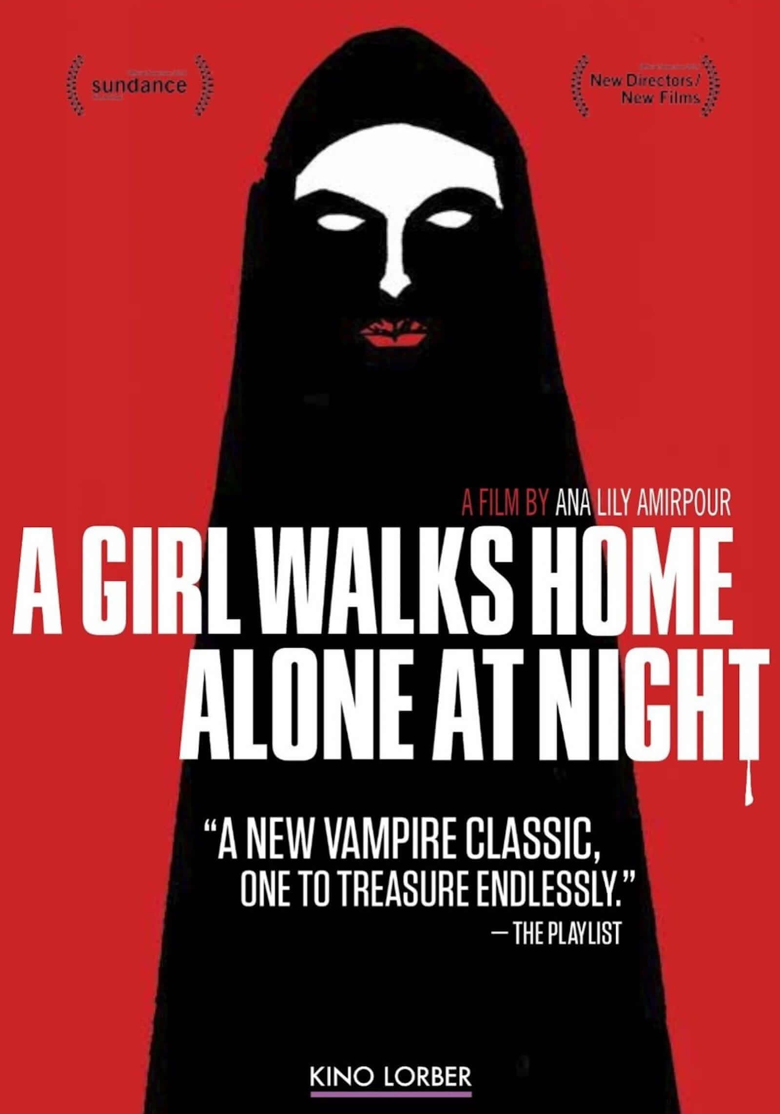 Best Vampire Movies a girl walks home alone at night
