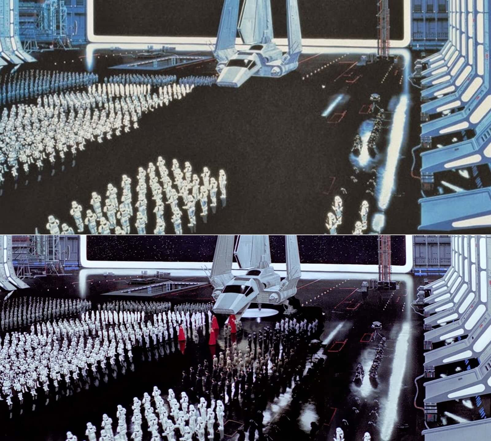 Casting Background Talent Matte Painting Storm Troopers