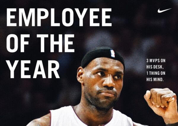 LeBron James Ad Ideas Employer Image