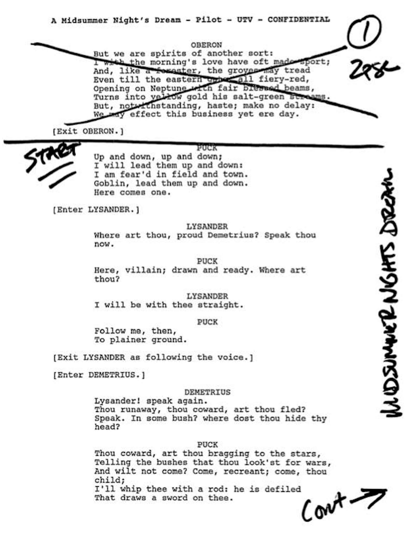 Script Sides Example What are Script Sides StudioBinder Production Software