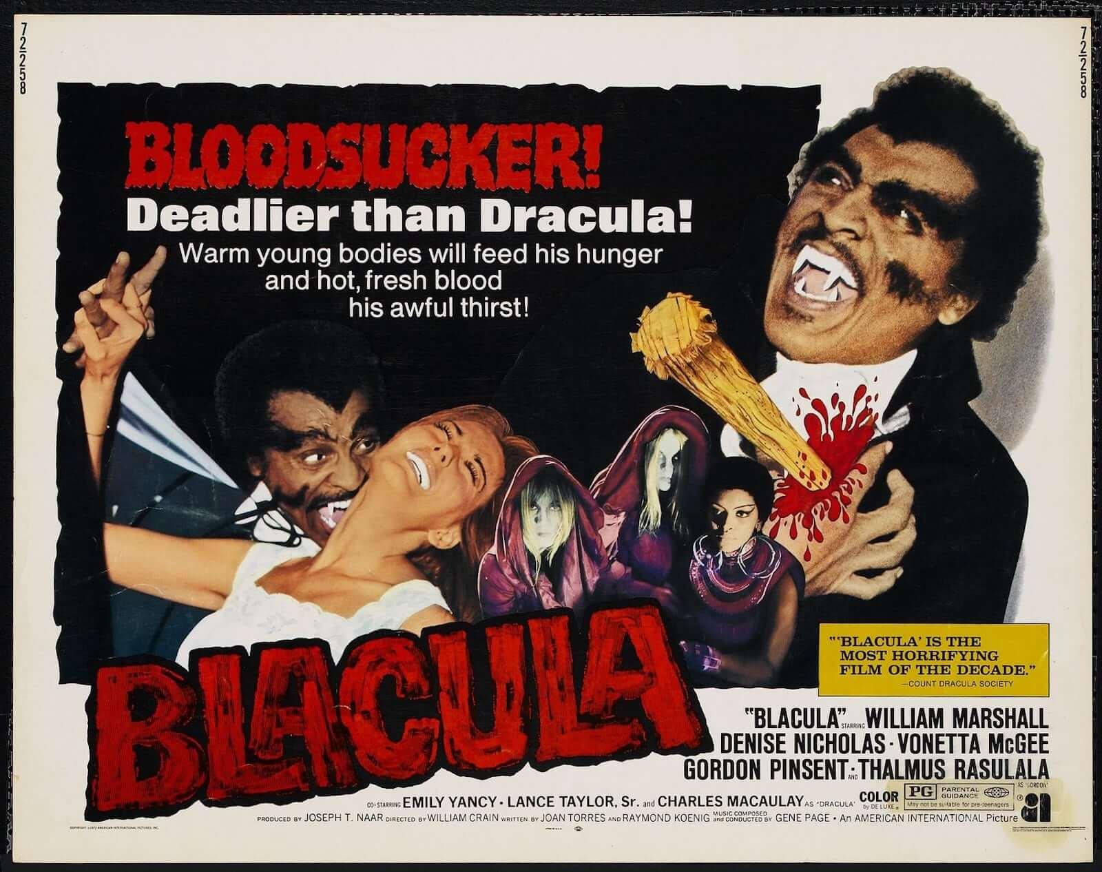 Best Vampire Movies Blacula