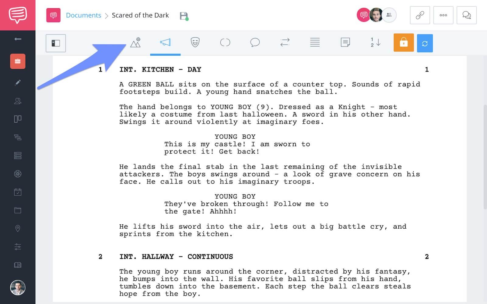 studiobinder-screenwriting-icons