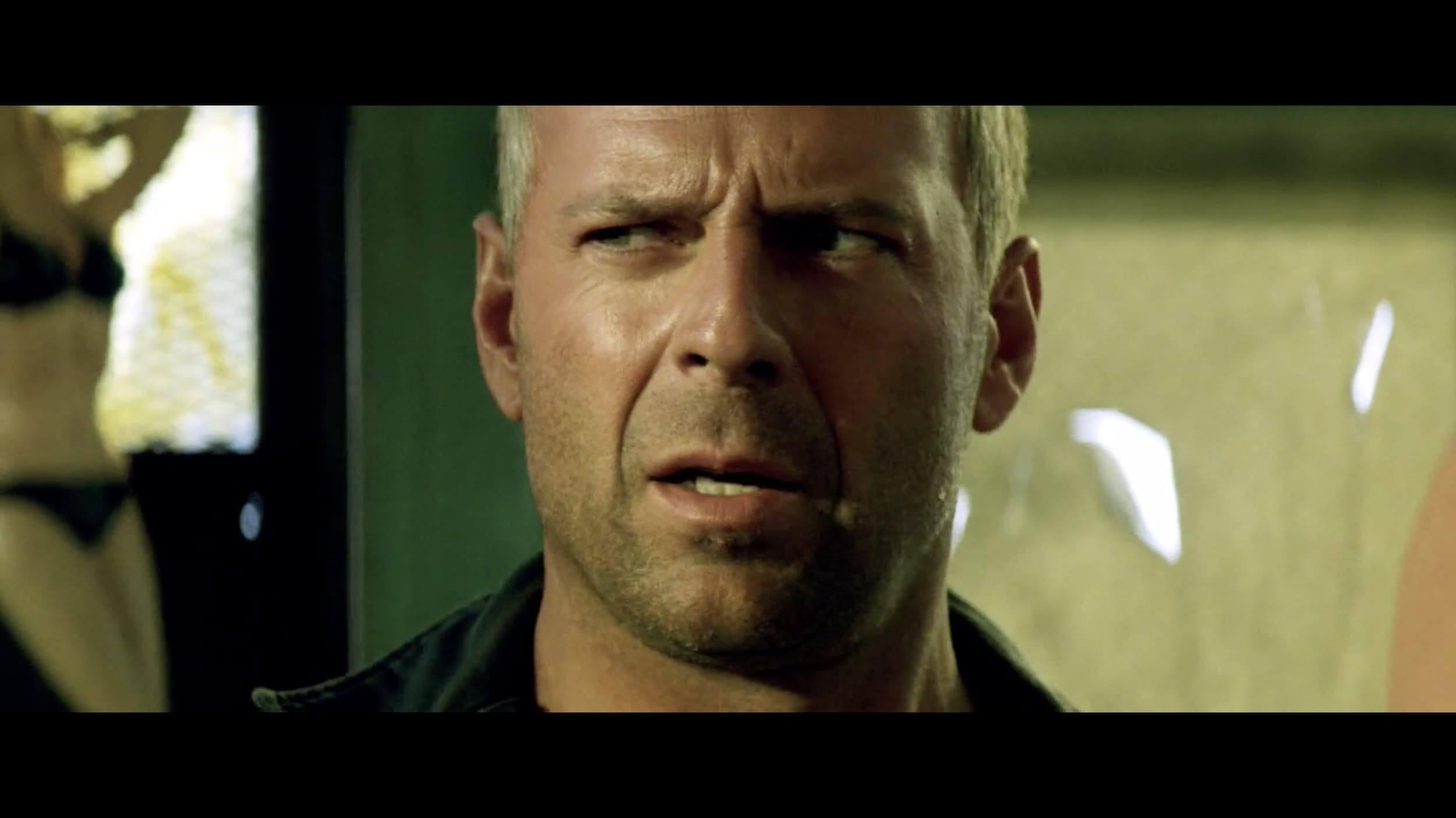 A Filmmaker's Guide to Michael Bay - Armageddon Close Up Bruce Willis - StudioBinder Online Shot List Software