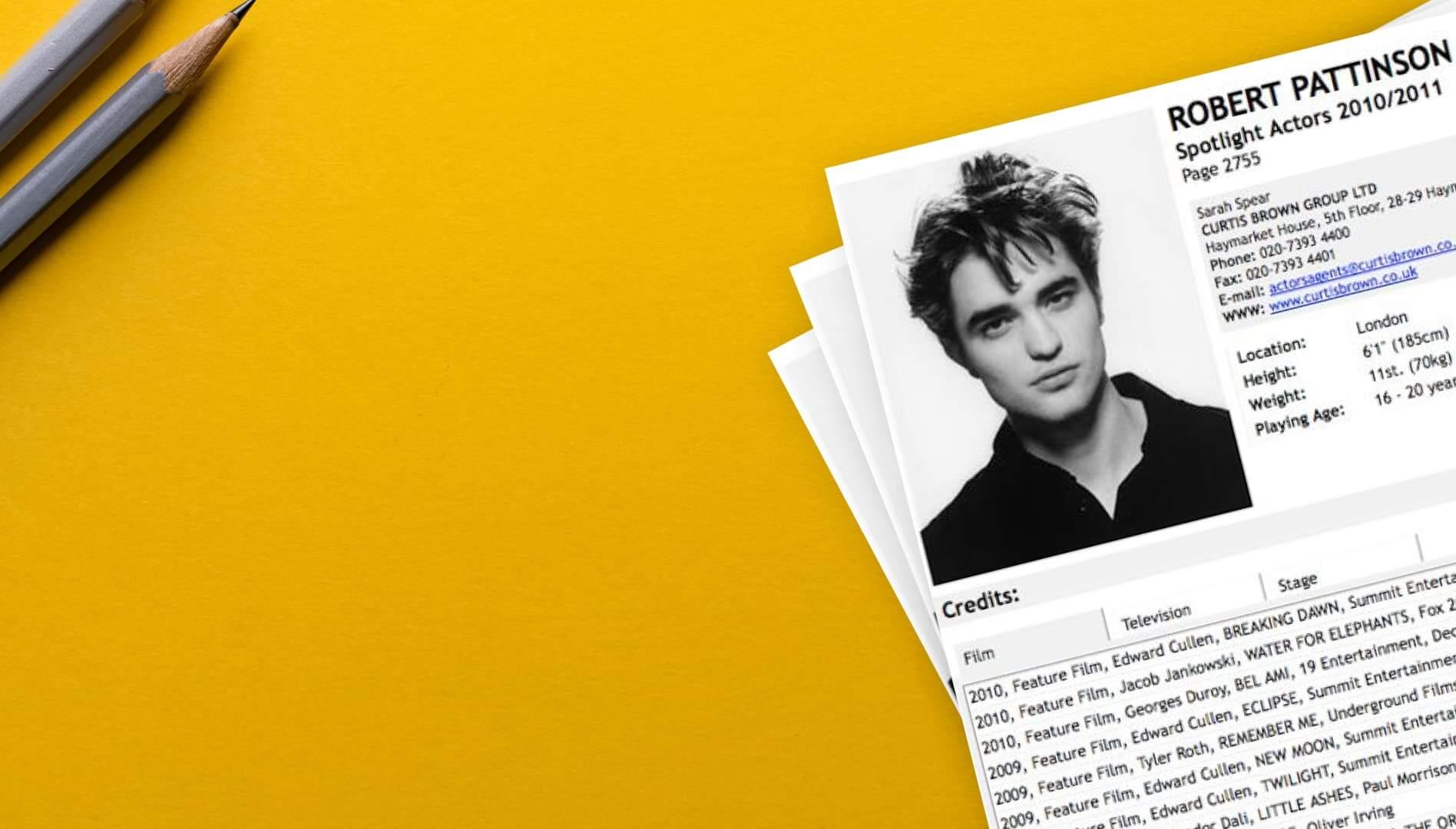 Actor Resume Lies - Header - StudioBinder