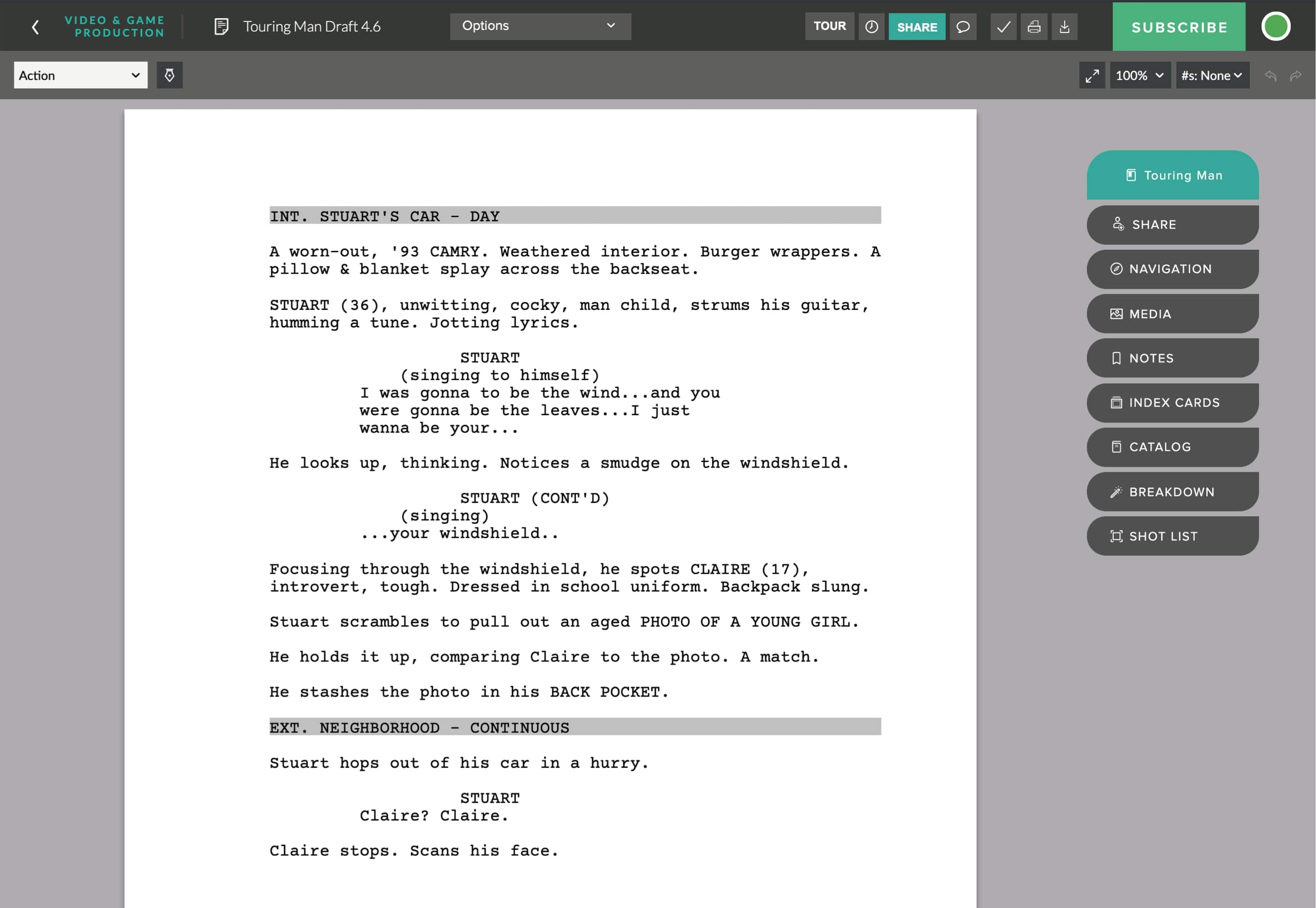 Best Alternative to Celtx? Meet StudioBinder's Free Screenwriting Software