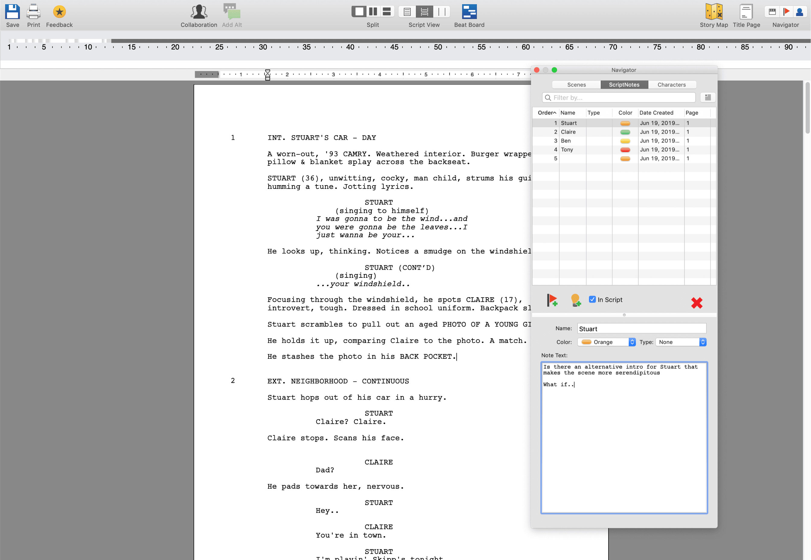 Best Alternative to Final Draft Scriptnotes - Meet StudioBinder's Scriptwriting Software