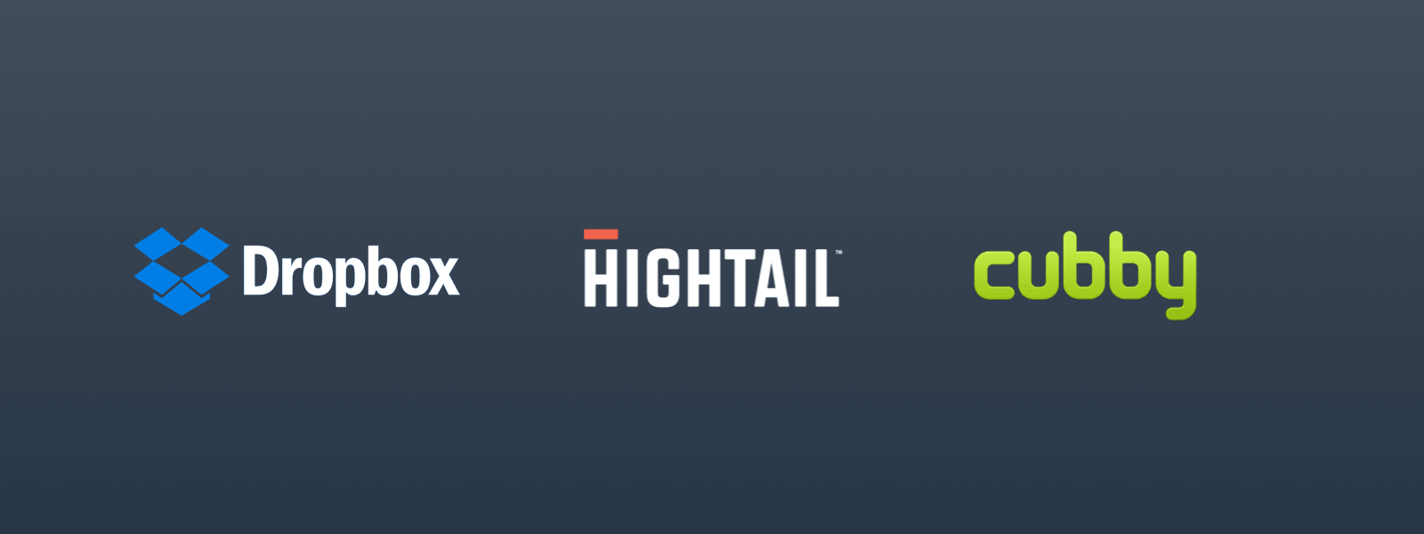 Best Filmmaker Software and Tools - Dropbox - Hightail - Cubby