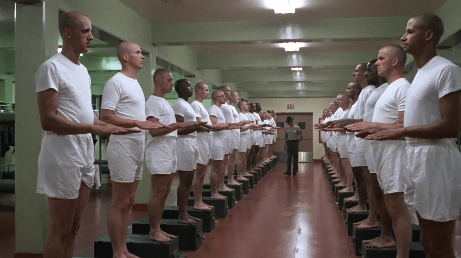 Best Stanley Kubrick Movies - Kubricks Use of Symmetry - Full Metal Jacket