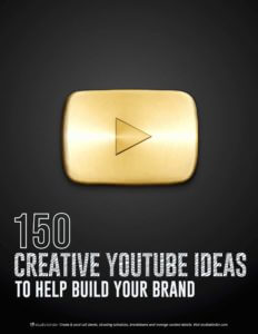 Creative YouTube Ideas - StudioBinder Ebook