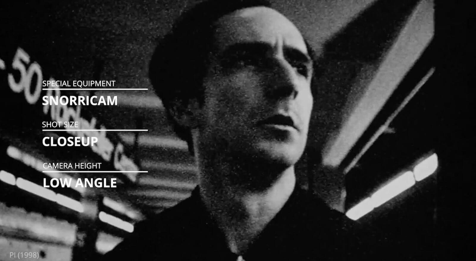 Darren Aronofsky Movies Pi Snorricam