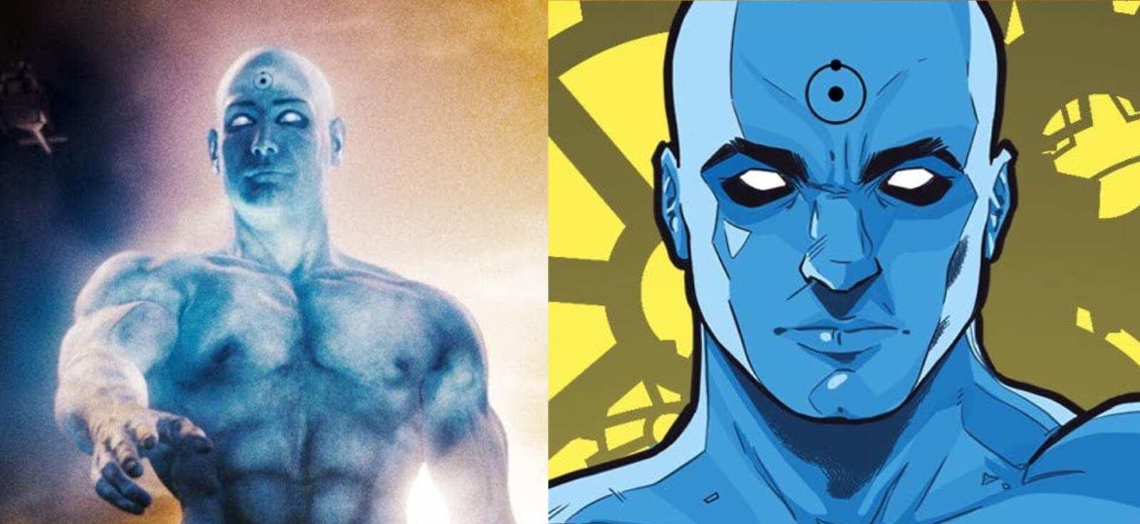 Zack Snyder Color Dr Manhattan