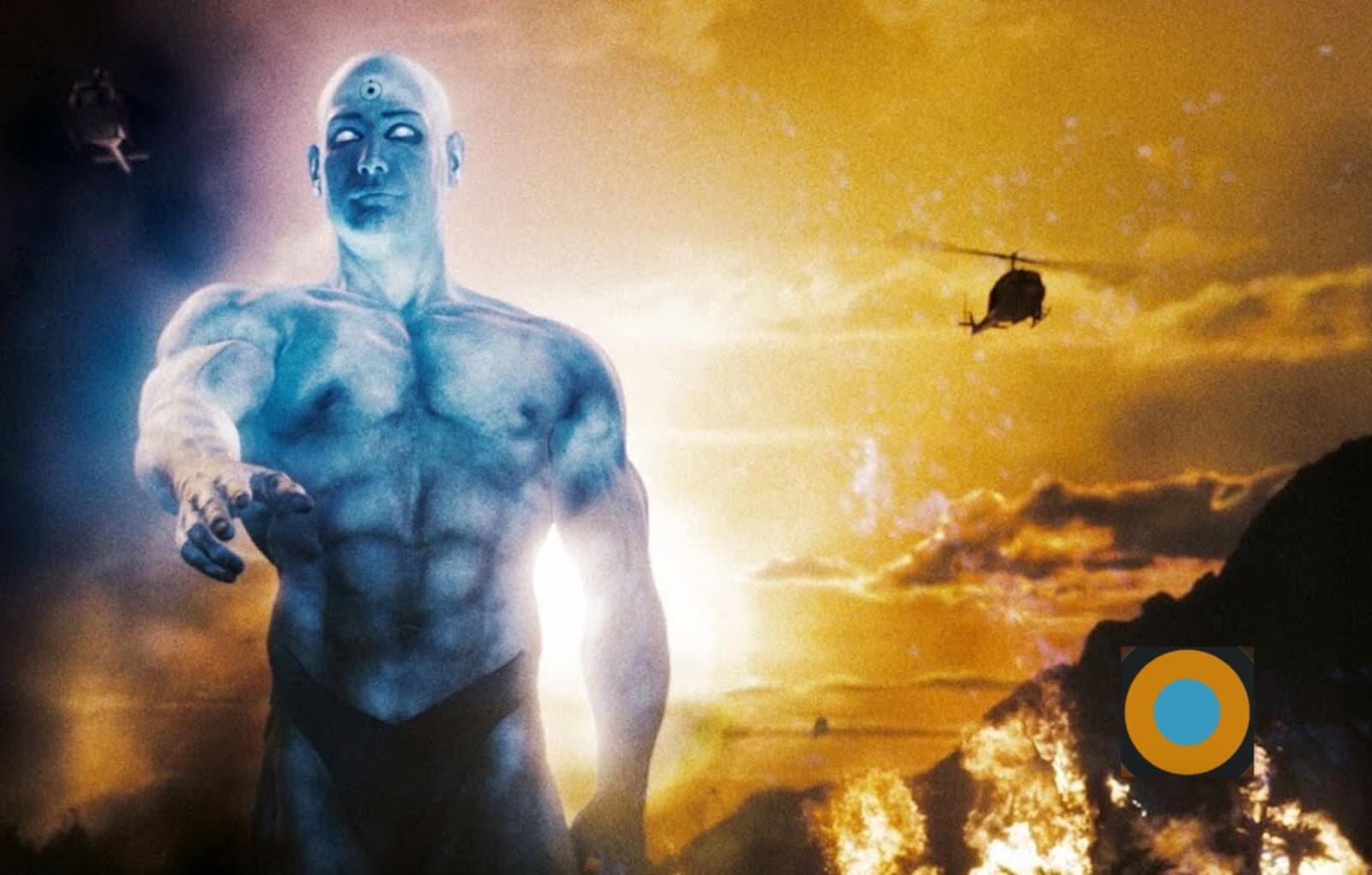 Zack Snyder Color Dr Manhattan Associated