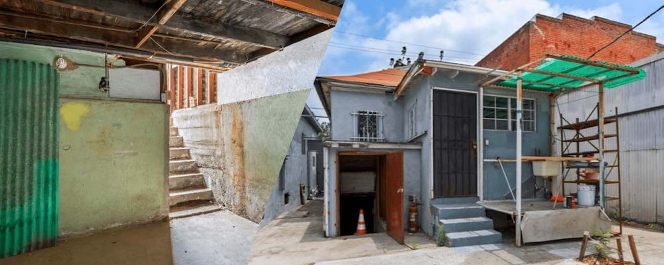 Filming Locations Los Angeles - Film Locations for Rent - Downtown LA Stripped House