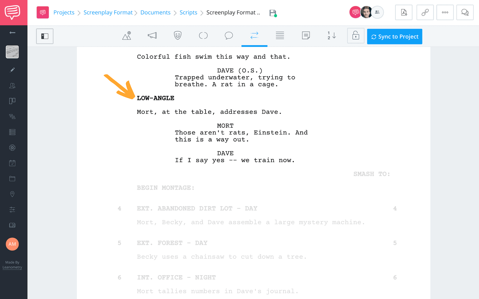 How to Format A Screenplay - Formatting Shots in a Screenplay - StudioBinder Screenwriting Software