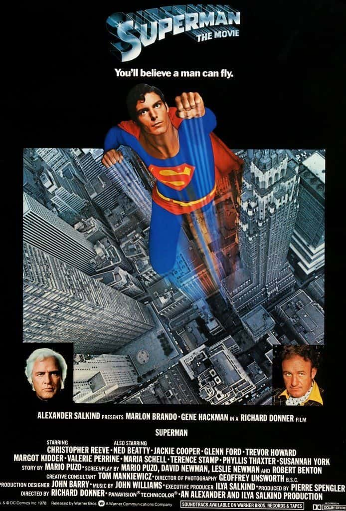 How to Make a Movie Poster - Movie Poster Credits - Superman