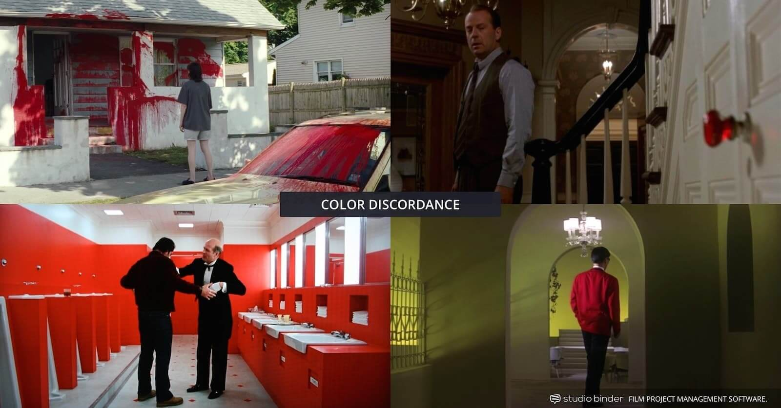How to Use Color in Film - Movie Color Palette - Color Discordance - Multiple Examples